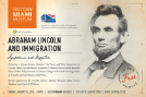 "Moderating on ""Lincoln and Immigration""‌"